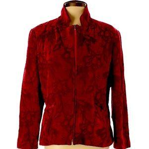 Lana Lee Red / Maroon Jacket